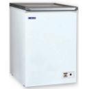 UDD 100 SK Chest freezer with top glass door