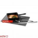Mini squared fry pan 13,6x13,6x3,6 cm