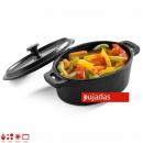 High mini oval pan with lid 12,5x9,3 cm 0,25 Lts