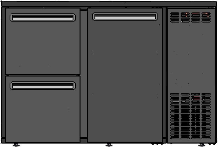DCL-32 MU/VS - Barska vitrina