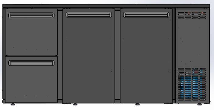 DCL-322 MU/VS - Barska vitrina