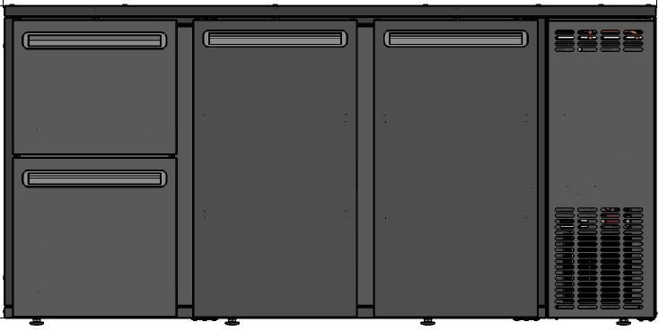 DCL-522 MU/VS - Barska vitrina