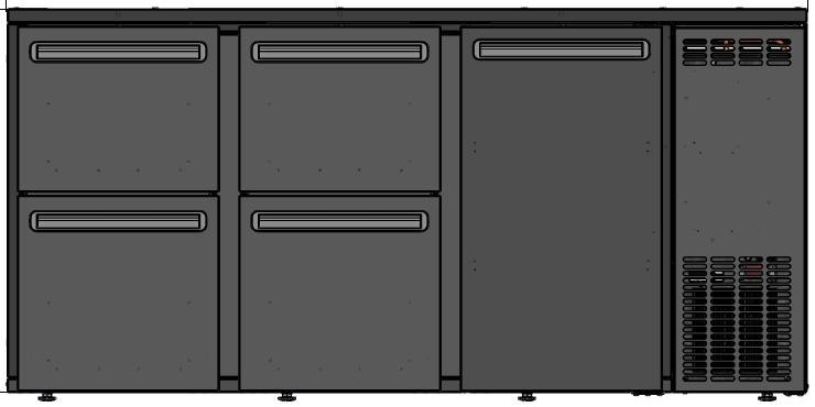 DCL-552 MU/VS - Barska vitrina