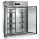 ME150T - 2 door stainless steel refrigerator