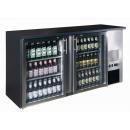 TC-BB-2GDI INOX Double glass door bar cooler