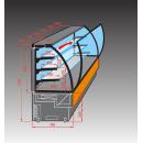 EVO 60 - Vitrina za kolače (ugrađena kondenzacijska jedinica)