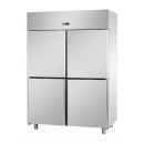 A414EKOMTN - Stainless steel splited refrigerator GN 2/1