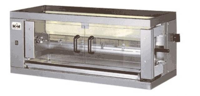 1EG - Plinska pileća pećnica sa 1 ražnjem