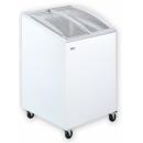UDD 100 SCEB Chest freezer with slanting, sliding and convexed glass door