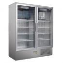 SCH 1400 S INOX - Glass door cooler