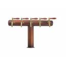 KONZOLA HALM BRIDGE -TT BP, bez medaljona, ST-8, presvučena galvanskim bakrom 6,7x9,5 kratka