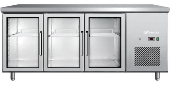 EPF 3731 Rashladni radni stol sa 3 staklena vrata