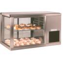 Stainless steel cooling showcase AV/MS 131