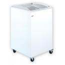 UDD 100 SCB Chest freezer with sliding curved glass top