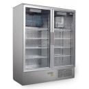 SCH 800 S INOX hladnjak sa duplim staklenim vratima