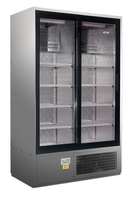SCH 800 R INOX - Sliding glass door cooler