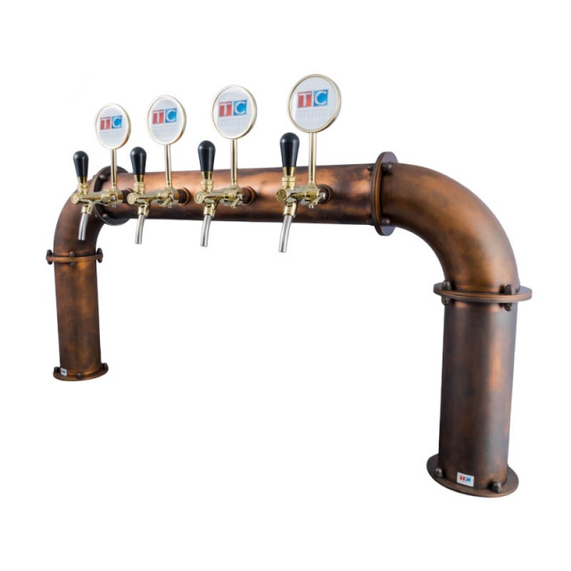 BRAUHAUS konzola sa 4 pipe